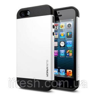 Чехол SGP Slimarmor для iPhone 5/5s, белый