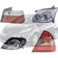 Прилади освітлення і деталі Ford Fiesta Форд Фієста 2008--