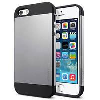 Чехол SGP Slimarmor для iPhone 5/5s, светло - серый, фото 1