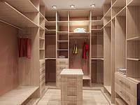 Гардеробные комнаты под заказ