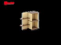 Полка навесная Флэш (правая) 950х386х900 мм