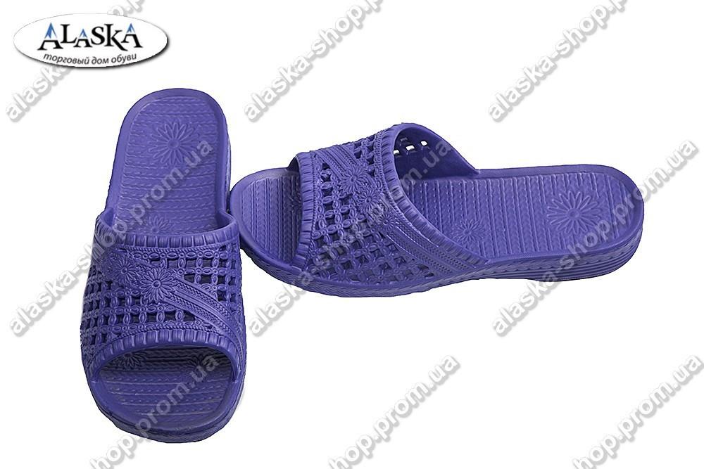 Женские сланцы фиолетовые (Код: Сеточка)