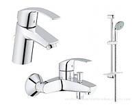 GROHE Набор смесителей для ванны EuroSmart 123238