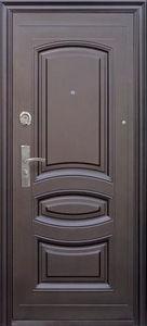 """Двери входные """"М - 021 """"металлическая молоток/лак"""