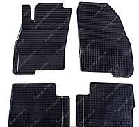 Резиновые коврики Фиат Гранде Пунто (автомобильные коврики в салон Fiat Grande Punto)