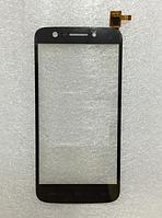 Оригинальный тачскрин / сенсор (сенсорное стекло) для Prestigio MultiPhone 5508 Duo (черный цвет)