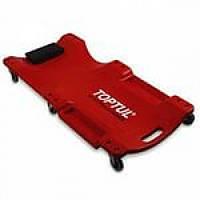 Лежак автослесаря подкатной пластиковый 1020x480x115mm Toptul JCM-0300