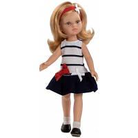 Кукла Даша в полосатом платье Paola Reina (04639)