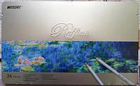 Карандаши Марко Raffine 36 цветов в металле 7120