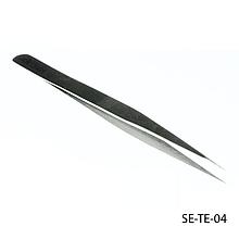 Прямой пинцет для наращивания ресниц Steelect  LDV SE-TE-04 /09-0