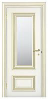 """Межкомнатные шпонированные двери """"Мадрид ПО"""" со стеклом 2-х сторонний сатин"""