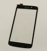 Оригинальный тачскрин / сенсор (сенсорное стекло) для Prestigio MultiPhone 7600 Duo (черный цвет)