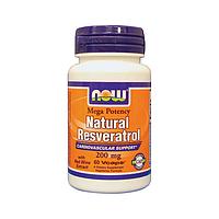 Кардиопротектор Ресвератрол 200 мг 60 капсул из США