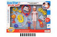 Набор доктор с куклой 851-4
