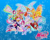 "Вафельные картинки ""Winx Club 5"" А4 (код 01948)"