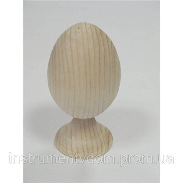 """Яйцо на подставке деревянное """"куриное"""" (цельное)"""