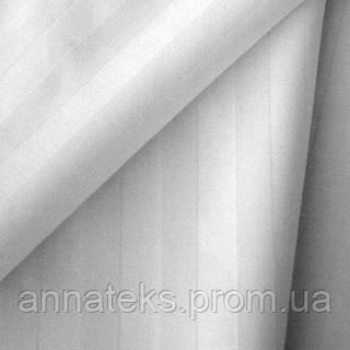 Ткань постельная 101017 Сатин (КИТ) ОТБ 300СМ полоска 1,0 СМ