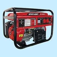 Генератор бензиновый БРИГАДИР БГ-4500Е (4.0 кВт)