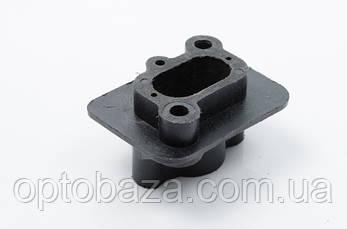 Коллектор-переходник карбюратора (под 14мм) для мотокос серии 40 - 51 см, куб, фото 2