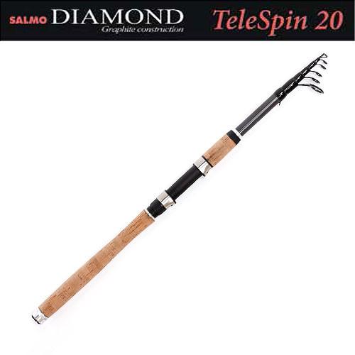 Спиннинг Salmo Diamond TELESPIN 20 2.40 - Салмо.com.ua - товары для рыбалки и туризма в Киеве