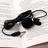 Мини микрофон для ноутбука/ПК на прищепке