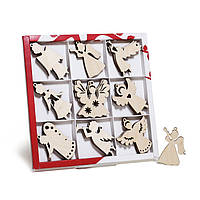 Набор заготовок для творчества «Ангелы подвесные» на сувенир