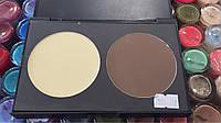 Профессиональная палитра для макияжа румяна и хайлайтер, фото 1
