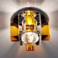 Светильний точечный (патрон G9) желтый