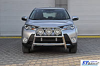 Toyota RAV4 2013 Кенгурятник Wt018 нерж