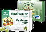 Рыбный жир 20% Омега 3 Био Контур с ламинарией, 0,33г*100 капс