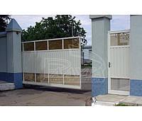 Автоматические откатные ворота Alusel