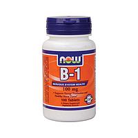 Витамин B-1 (тиамин) 100 мг 100 таблеток купить, цена, отзывы, США, Украина