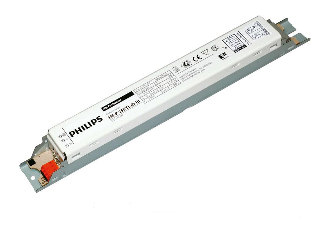 ЭПРА HF-P 1х58 TL-D PHILIPS