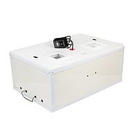 Инкубатор Курочка ряба на 100 яиц из пенопласта усиленный металлом, механический переворот и аналоговый терморегулятор
