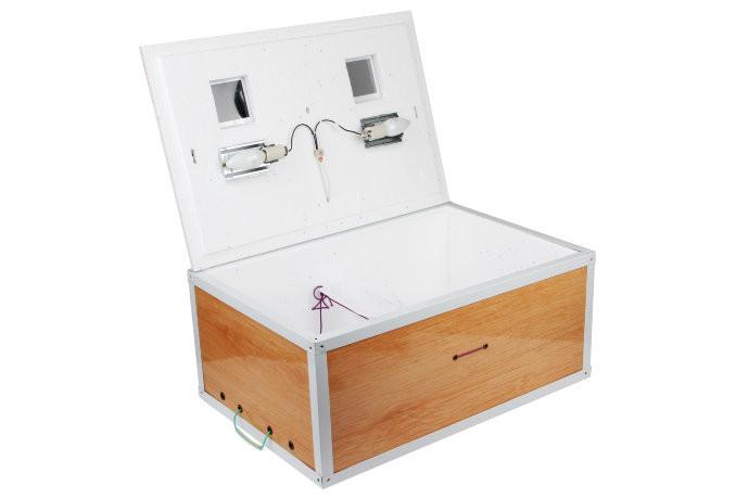 Инкубатор Курочка Ряба на 100 яиц с механическим переворотом (kr100cif)