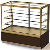 Кондитерская витрина ВХСв - 1,3д Carboma Cube Полюс (холодильная)