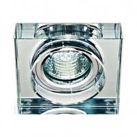 Точечный светильник Feron (цоколь G9)прозрачный