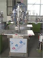 Полуавтоматическая машина по наполнению аэрозольных баллонов
