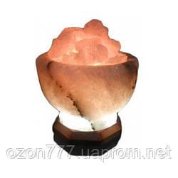 Соляная лампа Чаша огня 3-4 кг