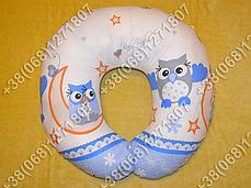 Подушки для кормления ребенка, для беременных (голубые расцветки), фото 3