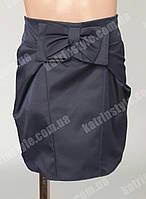 Модная детская юбка черного цвета