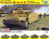 Pz.Kpfw. III Ausf. N   w\Schurzen     1\35   DRAGON 6474, фото 1