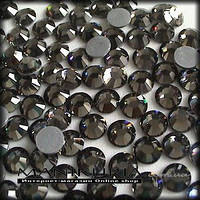 Стразы стекло, ss5 Black Diamond, 50 шт, аналог Swarovski