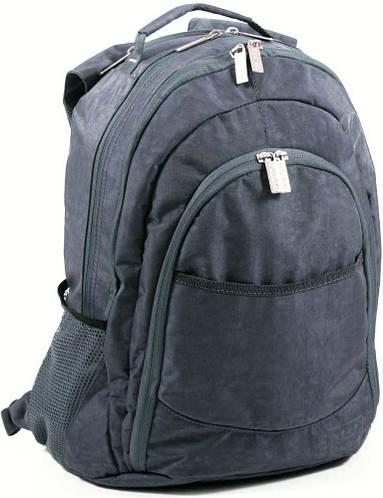 Стильный практичный городской рюкзак из нейлона 35 л. Bagland 18070-7 серый