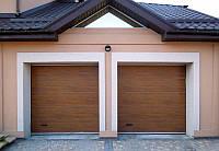 Гаражные секционные ворота ALUTECH