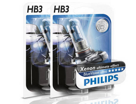 Philips Blue vision ultra 4000K HB3, фото 2