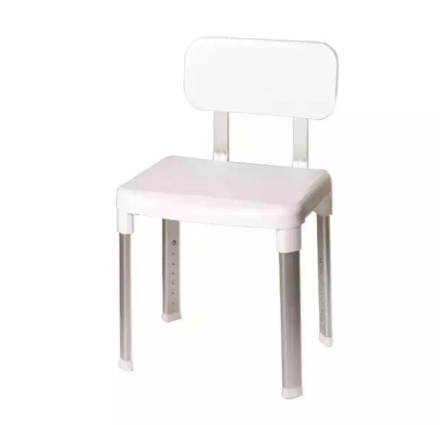 Стул- кресло со спинкой, алюминиевый каркас