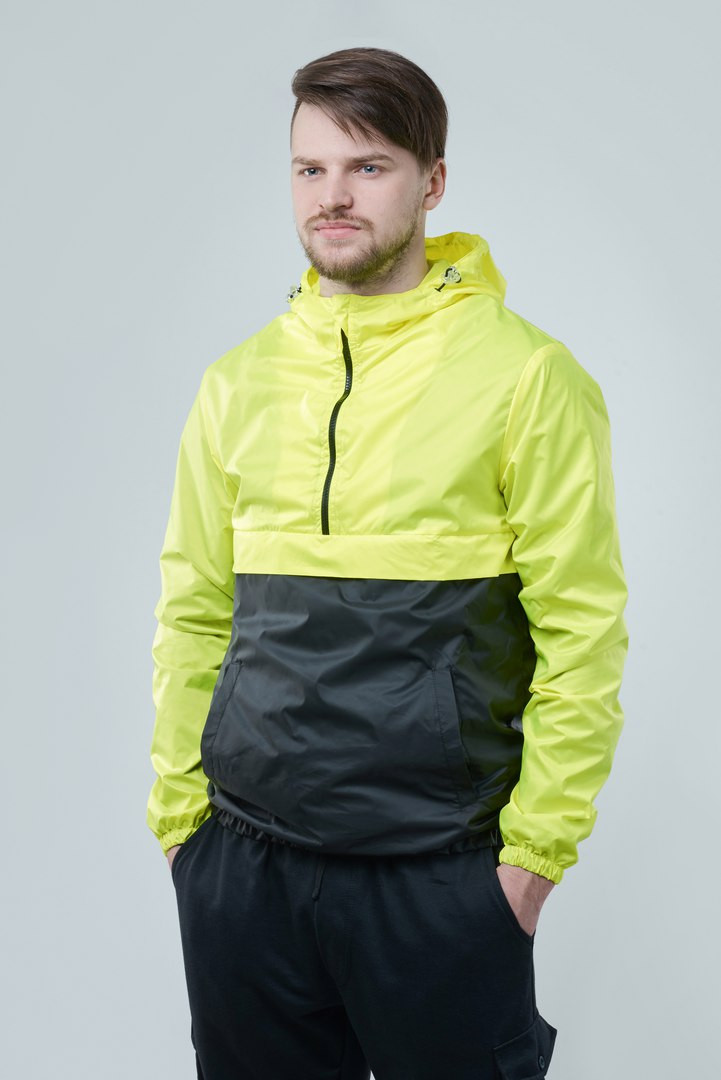 Анорак F&F Waterproof Lemon