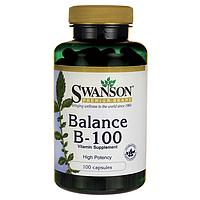 Balance B-100 Complex 100 капсул, комплекс витаминов группы B-50 купить