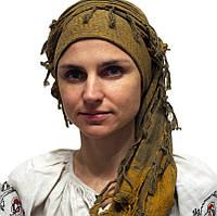 Куфия-шарф на голову оливковая-хаки